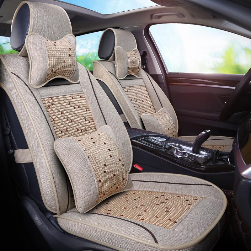 Classical Soft Good Breathability Woven Fabrics Custom Car Seat Covers