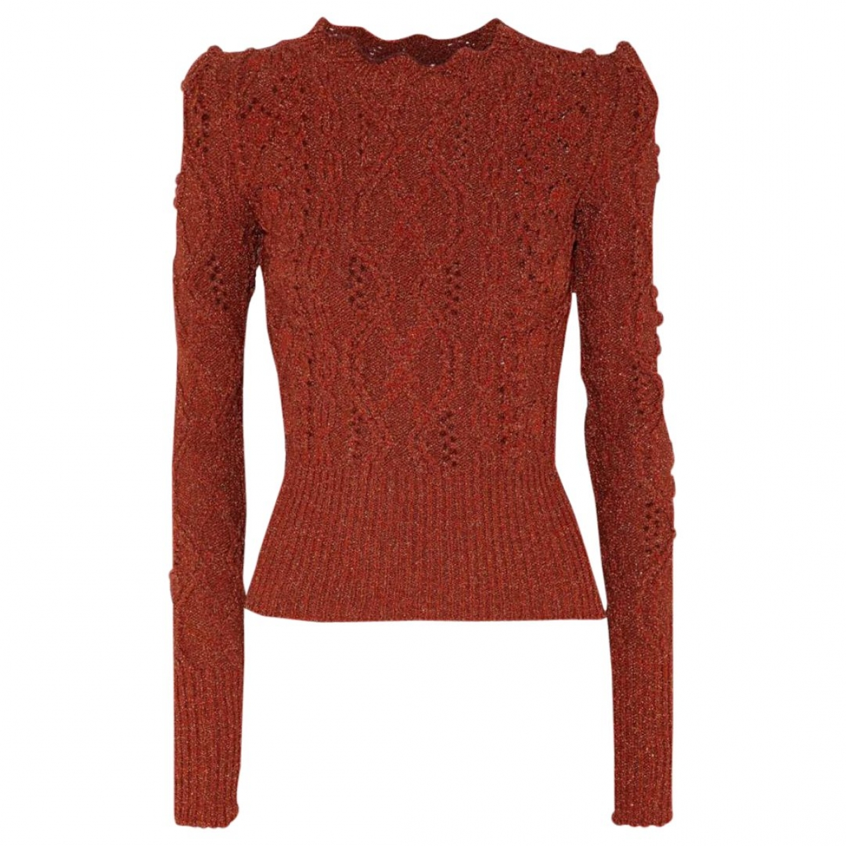 Isabel Marant \N Pullover in  Metallic Polyester