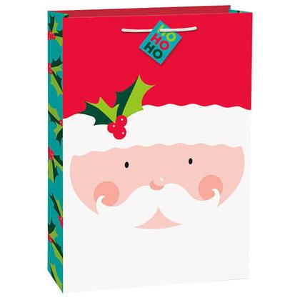 Joyeux Noël Noël jumbo cadeau sac de papier de bonbons pour la décoration de la fête à la maison