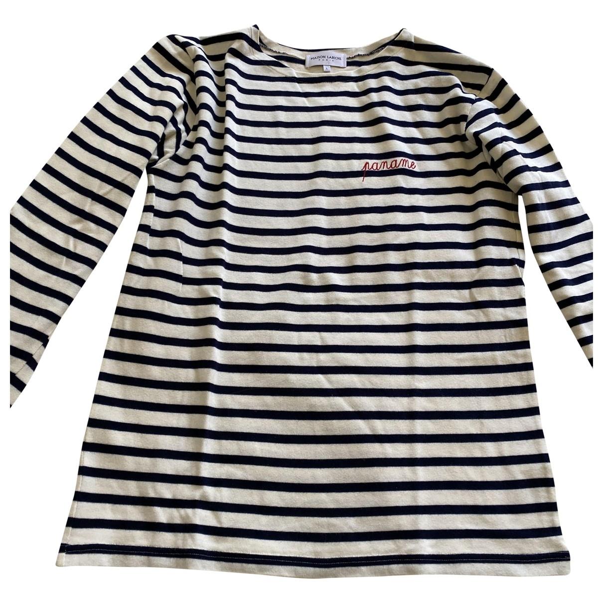 Maison Labiche - Tee shirts   pour homme en coton - blanc