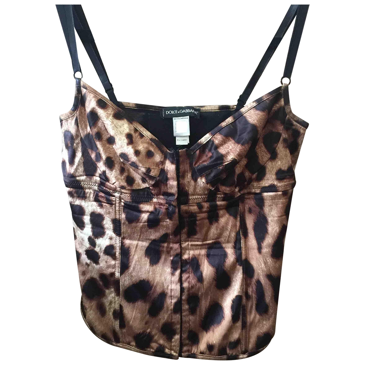 Dolce & Gabbana \N Beige Silk  top for Women L International