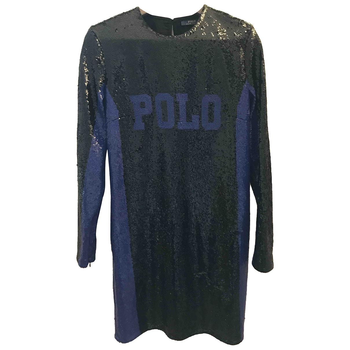 Vestido midi de Con lentejuelas Polo Ralph Lauren