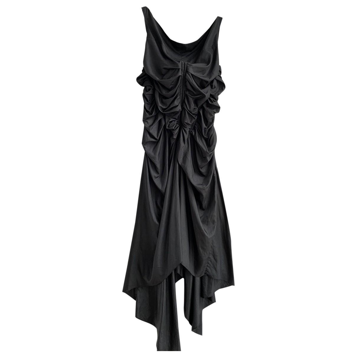 Jean Paul Gaultier \N Kleid in  Grau Polyester