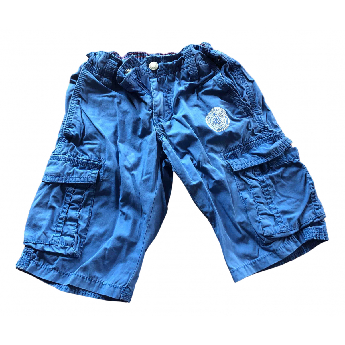 Tommy Hilfiger N Blue Cotton Shorts for Kids 5 years - up to 108cm FR