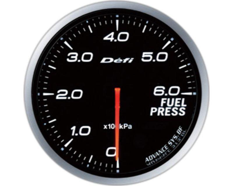 Defi Advance BF 60 Fuel Pressure Gauge White