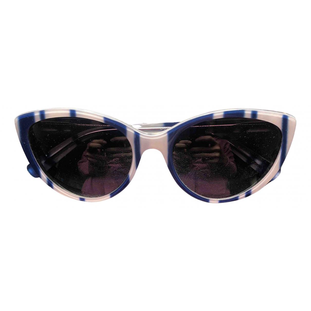 Dolce & Gabbana - Lunettes   pour femme - bleu