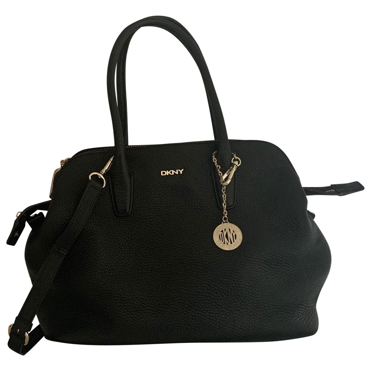 Dkny \N Black Leather handbag for Women \N