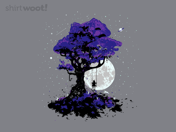 Swing By Moonlight T Shirt