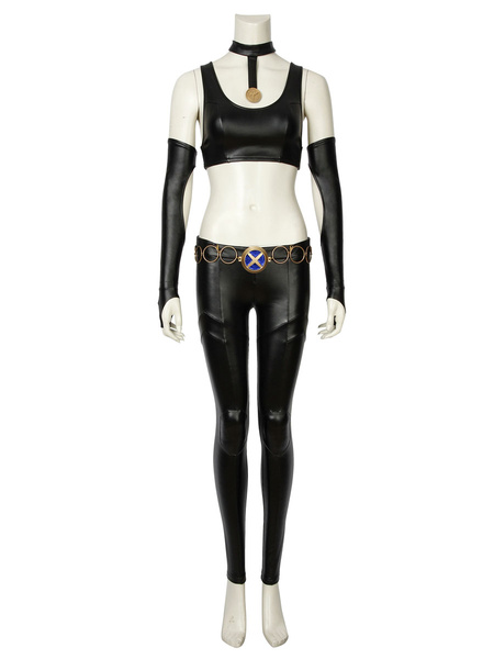 Milanoo Marvel Bishoujo X Men Cosplay Costume X 23 Logan Laura Kinney Halloween Costume Outfit
