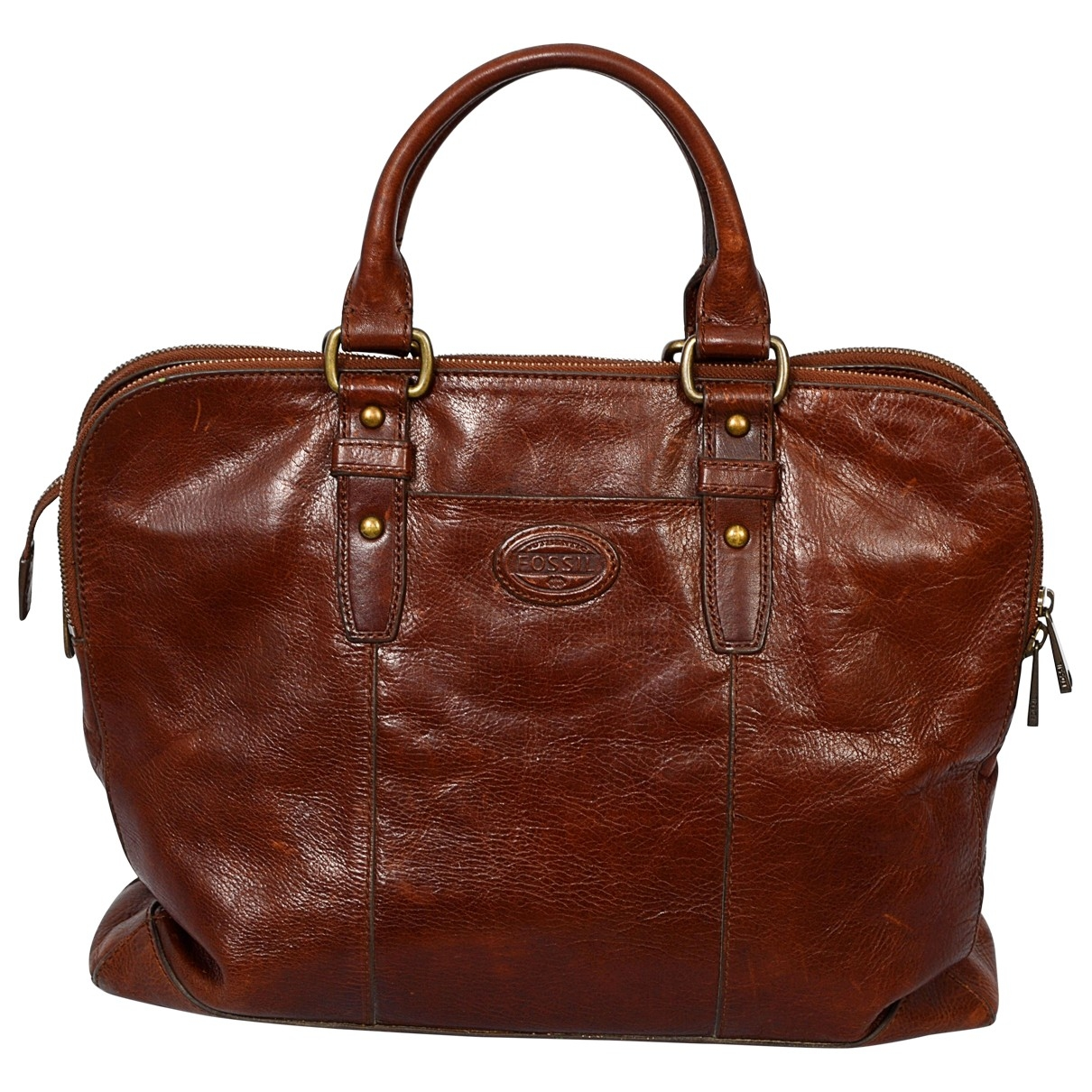 Fossil \N Brown Leather handbag for Women \N