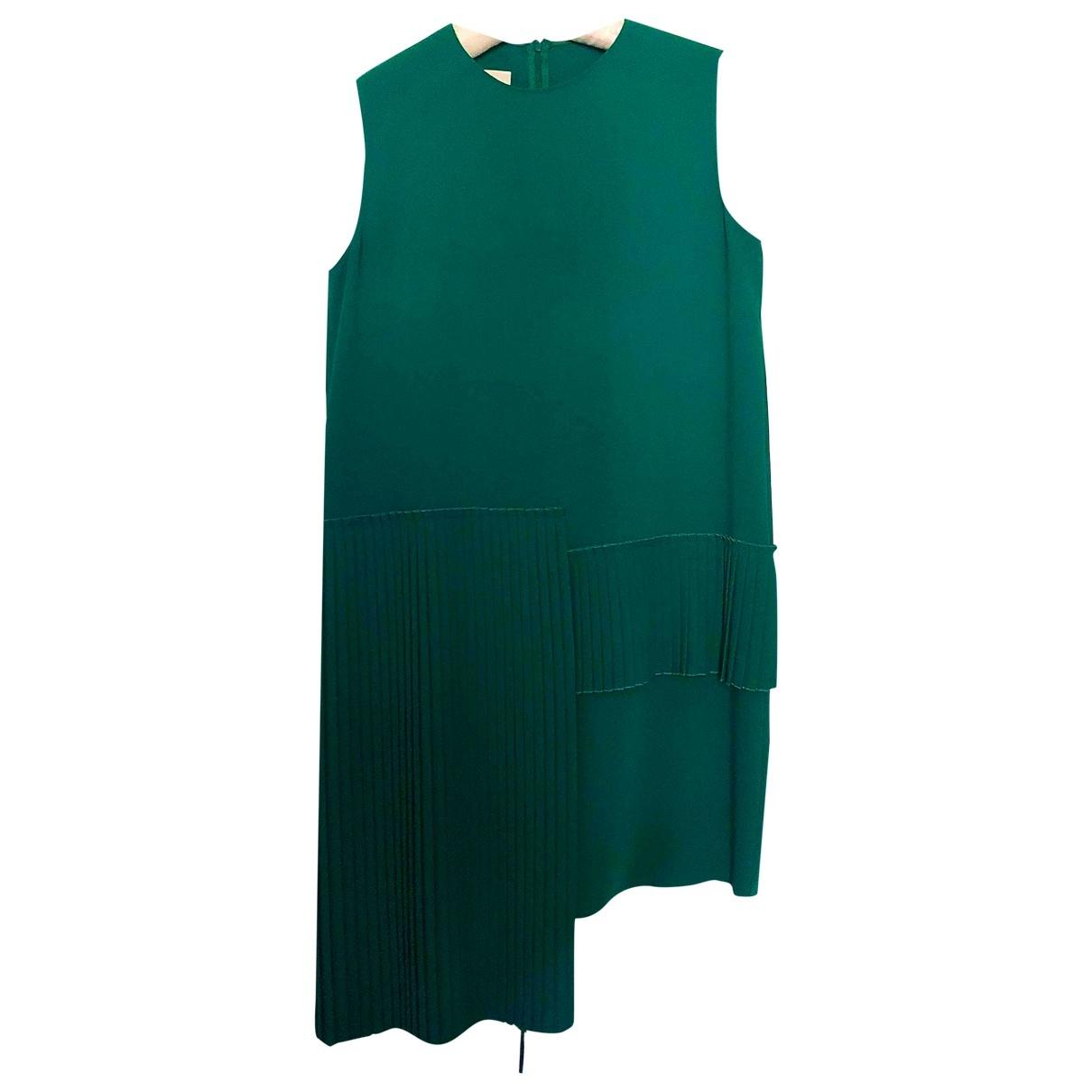 Mm6 \N Kleid in  Gruen Polyester
