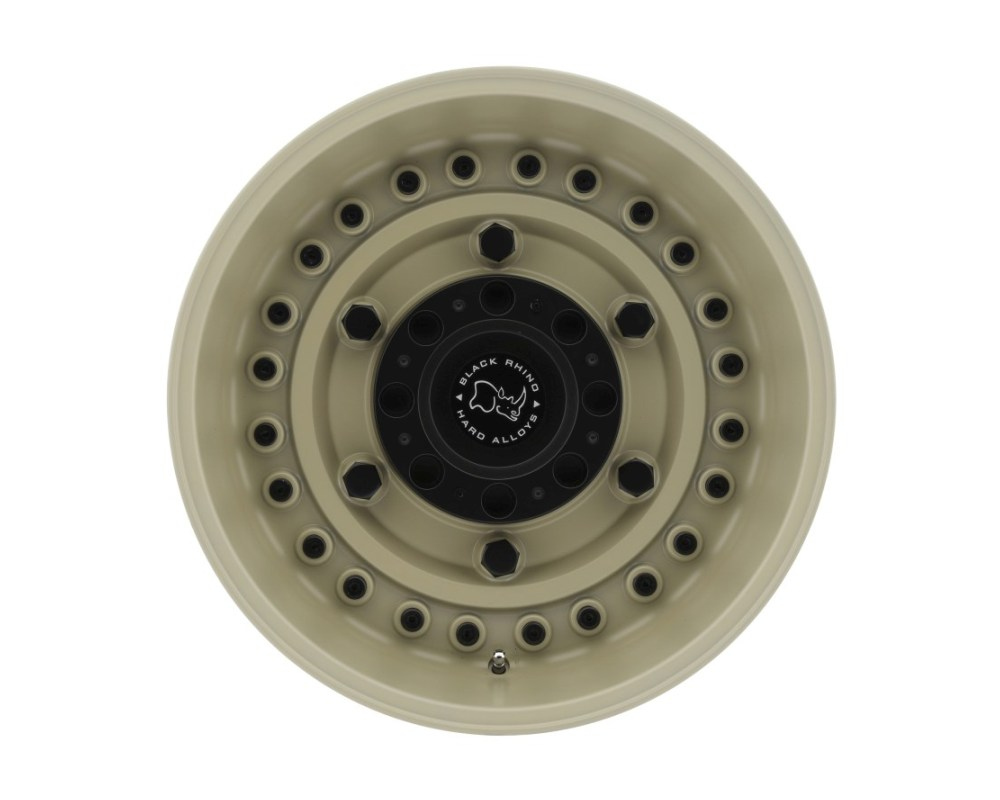 Black Rhino Armory Dessert Sand Wheel 18x9.5 8x170 6mm CB125.1