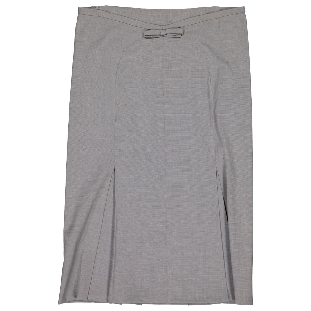 Louis Vuitton \N Rocke in  Grau Wolle