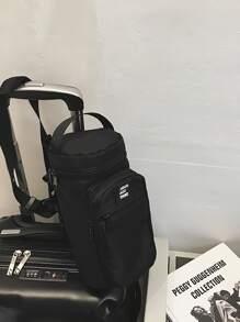 Men Pocket Front Satchel Bag