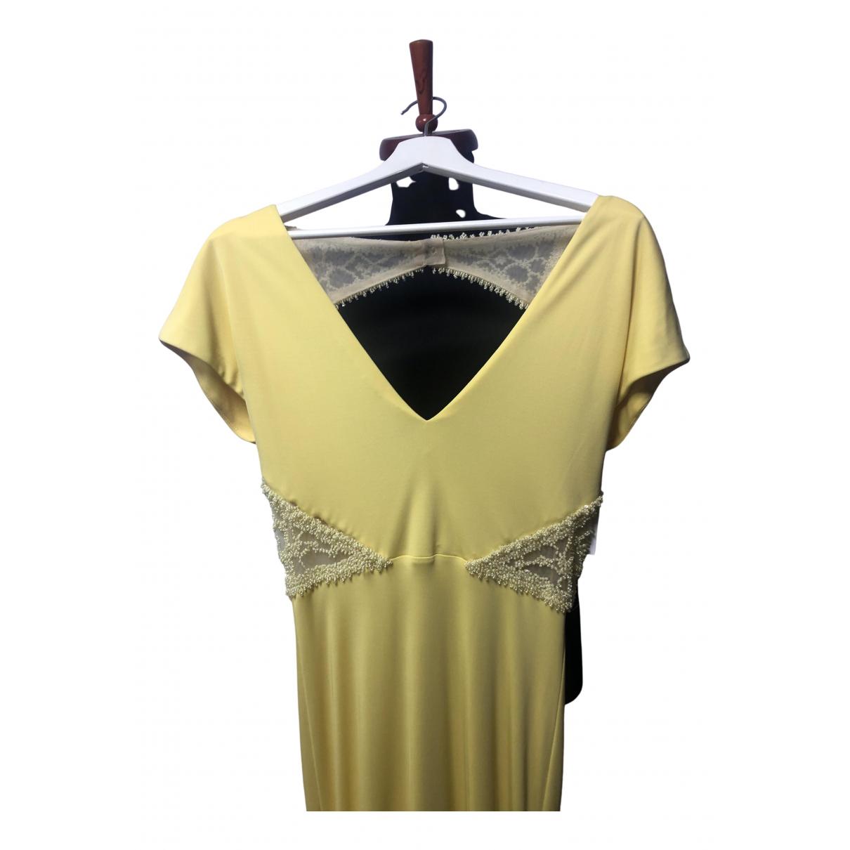 Badgley Mischka - Robe   pour femme - jaune