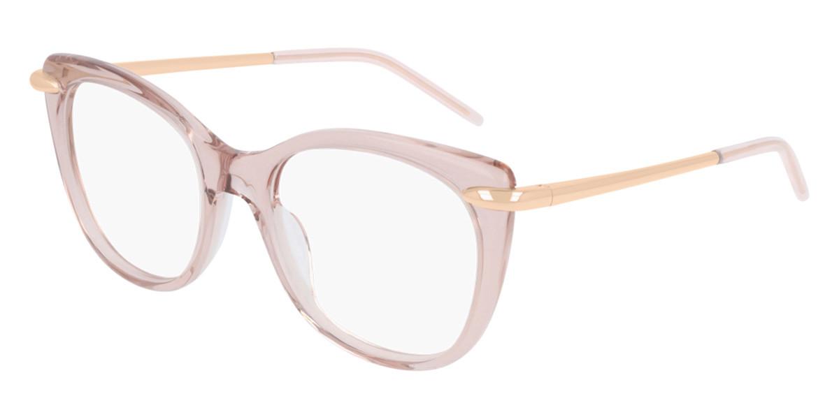 Pomellato PM0075O 004 Women's Glasses Pink Size 51 - Free Lenses - HSA/FSA Insurance - Blue Light Block Available