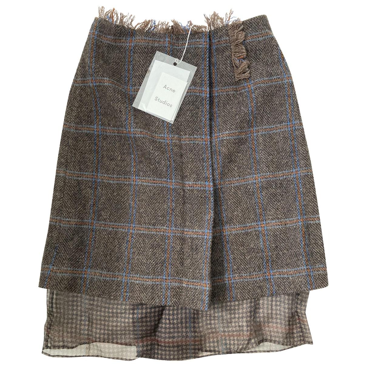Acne Studios \N Wool skirt for Women XS International