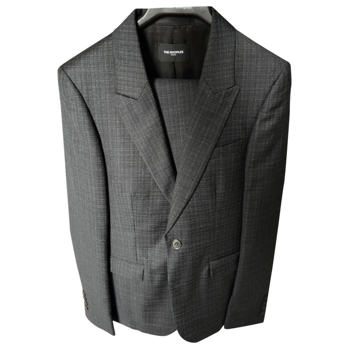 The Kooples - Costumes   pour homme en laine - noir