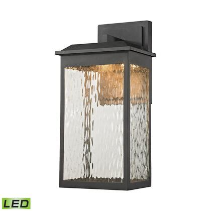 45201/LED Newcastle LED Outdoor Wall Sconce in Matte