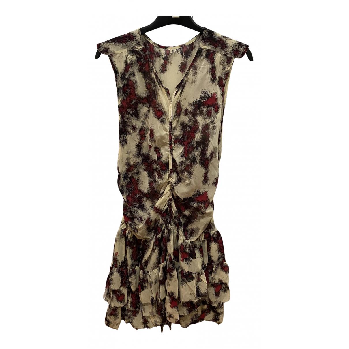 Iro - Robe   pour femme en soie - multicolore