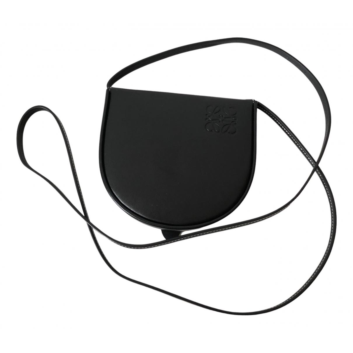 Loewe N Black Leather Purses, wallet & cases for Women N