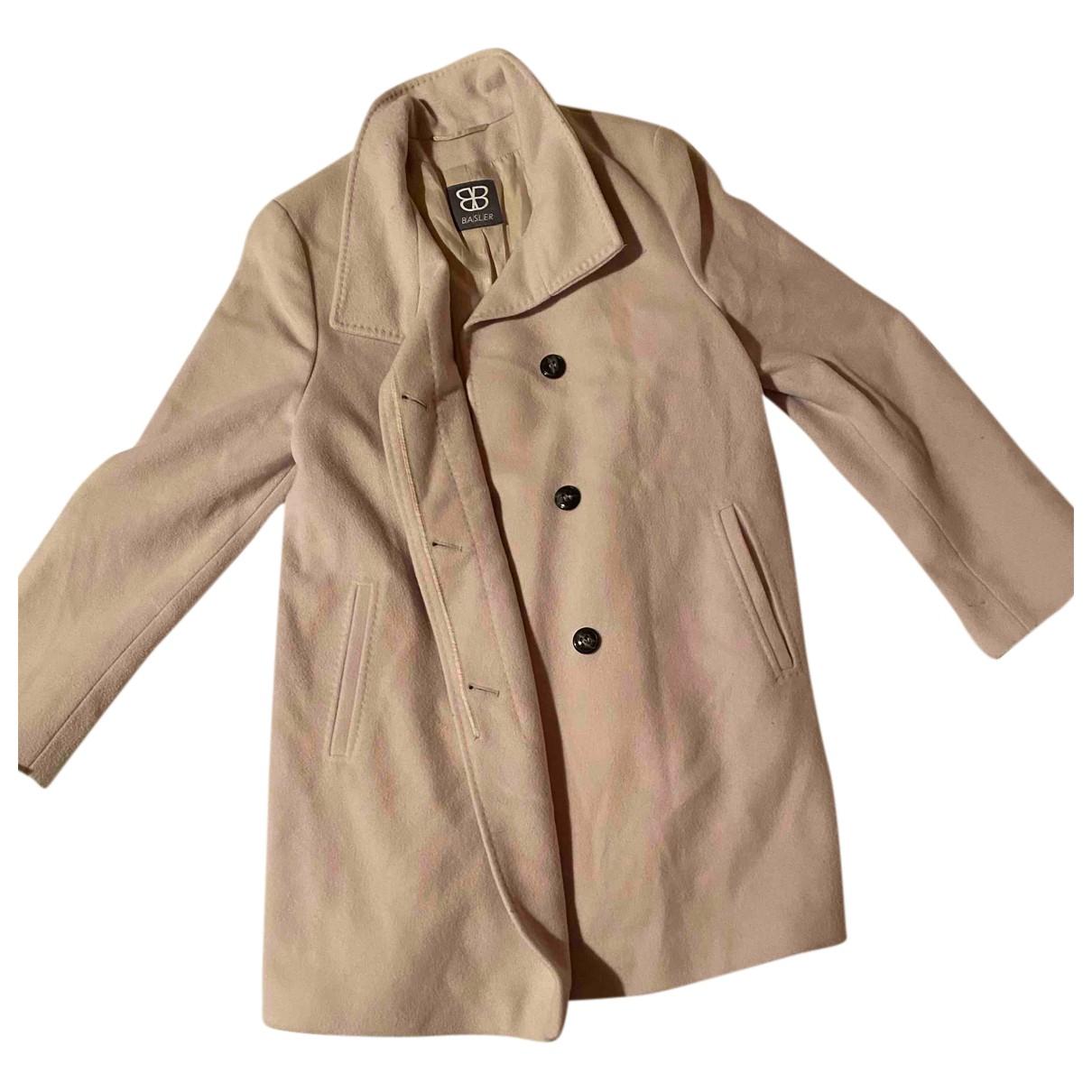 Basler N Ecru Wool coat for Women 38 FR
