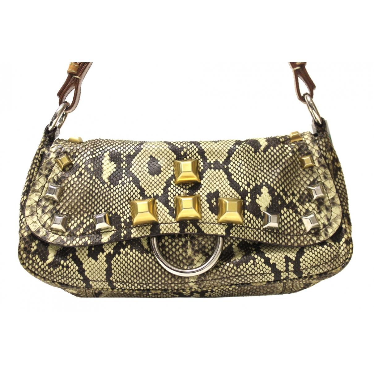 Prada \N Python handbag for Women \N
