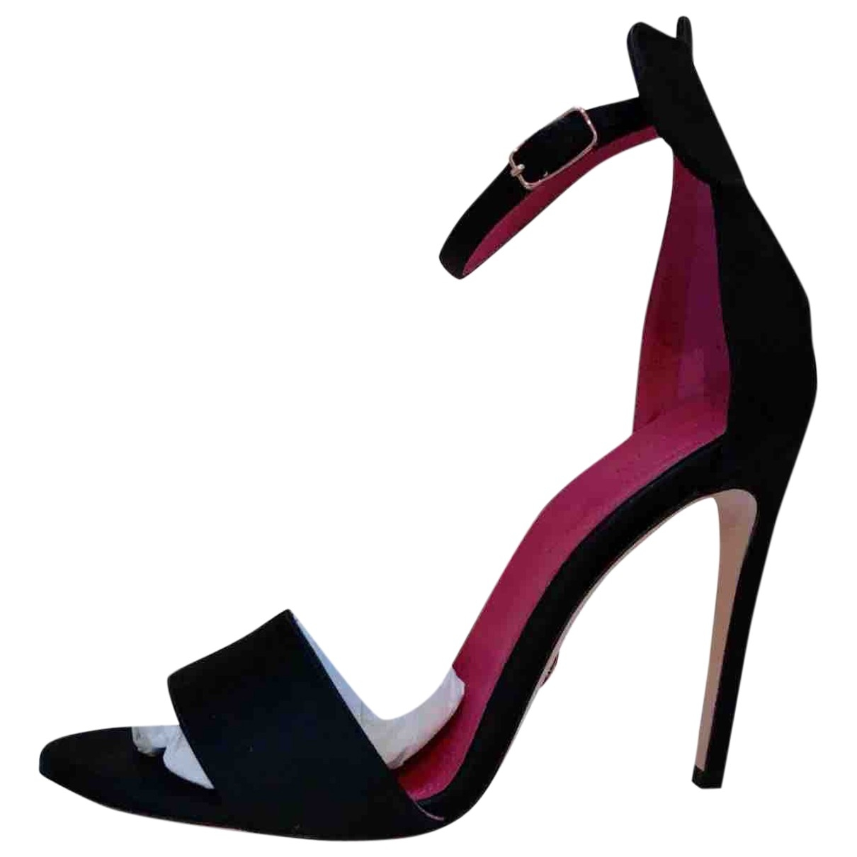 Oscar Tiye \N Black Cloth Sandals for Women 39 EU