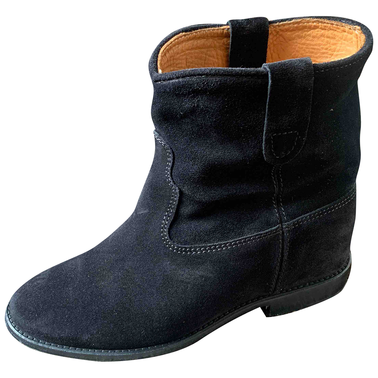 Isabel Marant Etoile N Black Suede Ankle boots for Women 36 EU