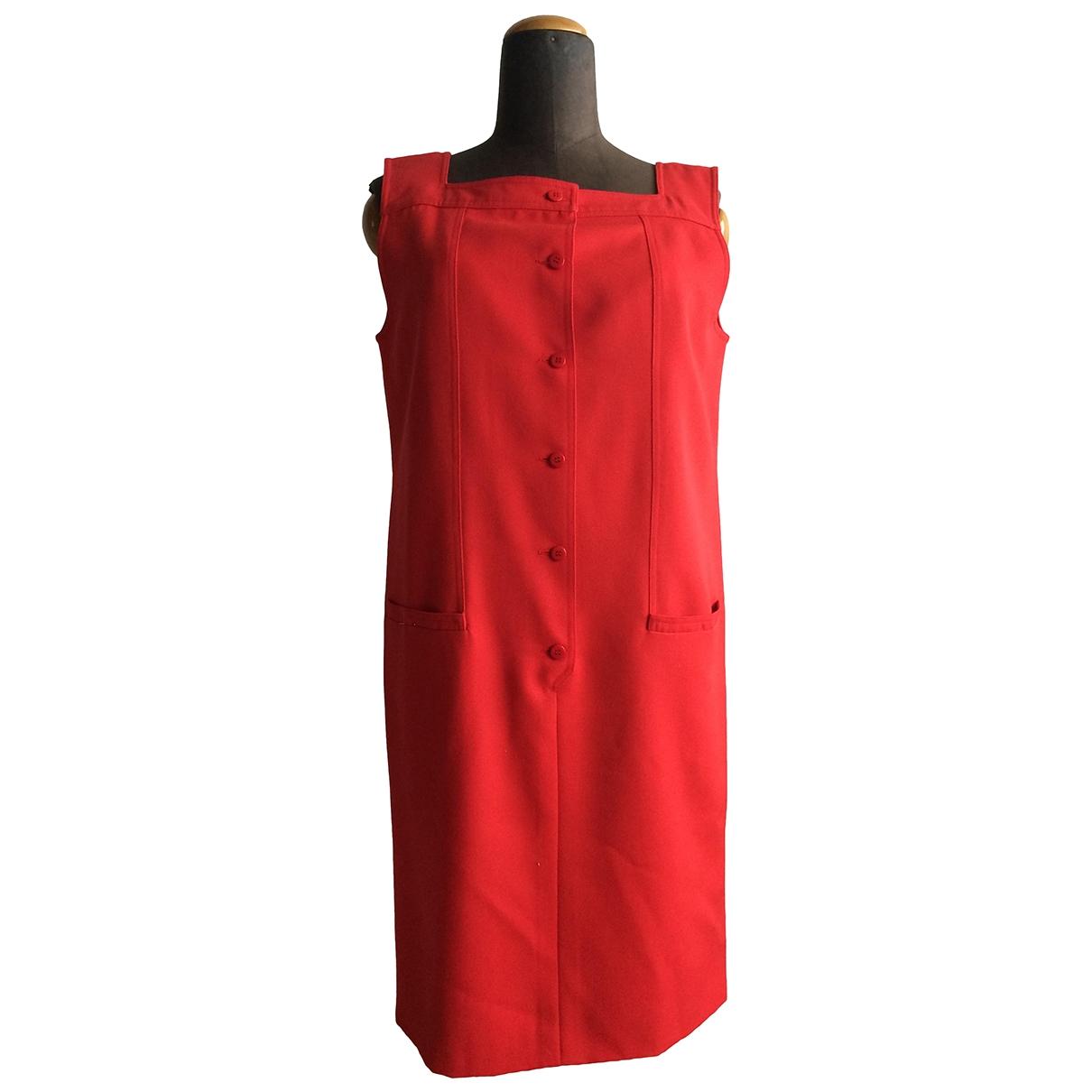 Valentino Garavani - Robe   pour femme en coton - rouge