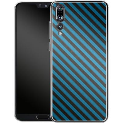 Huawei P20 Pro Silikon Handyhuelle - Stripes von caseable Designs