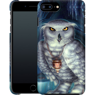 Apple iPhone 8 Plus Smartphone Huelle - Ed Beard Jr - Wizard Messenger Owl von TATE and CO