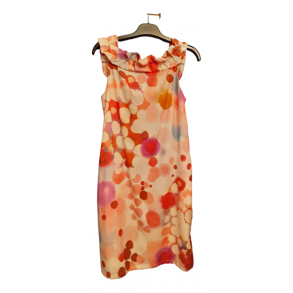 Moschino Love - Robe   pour femme en coton - elasthane - multicolore