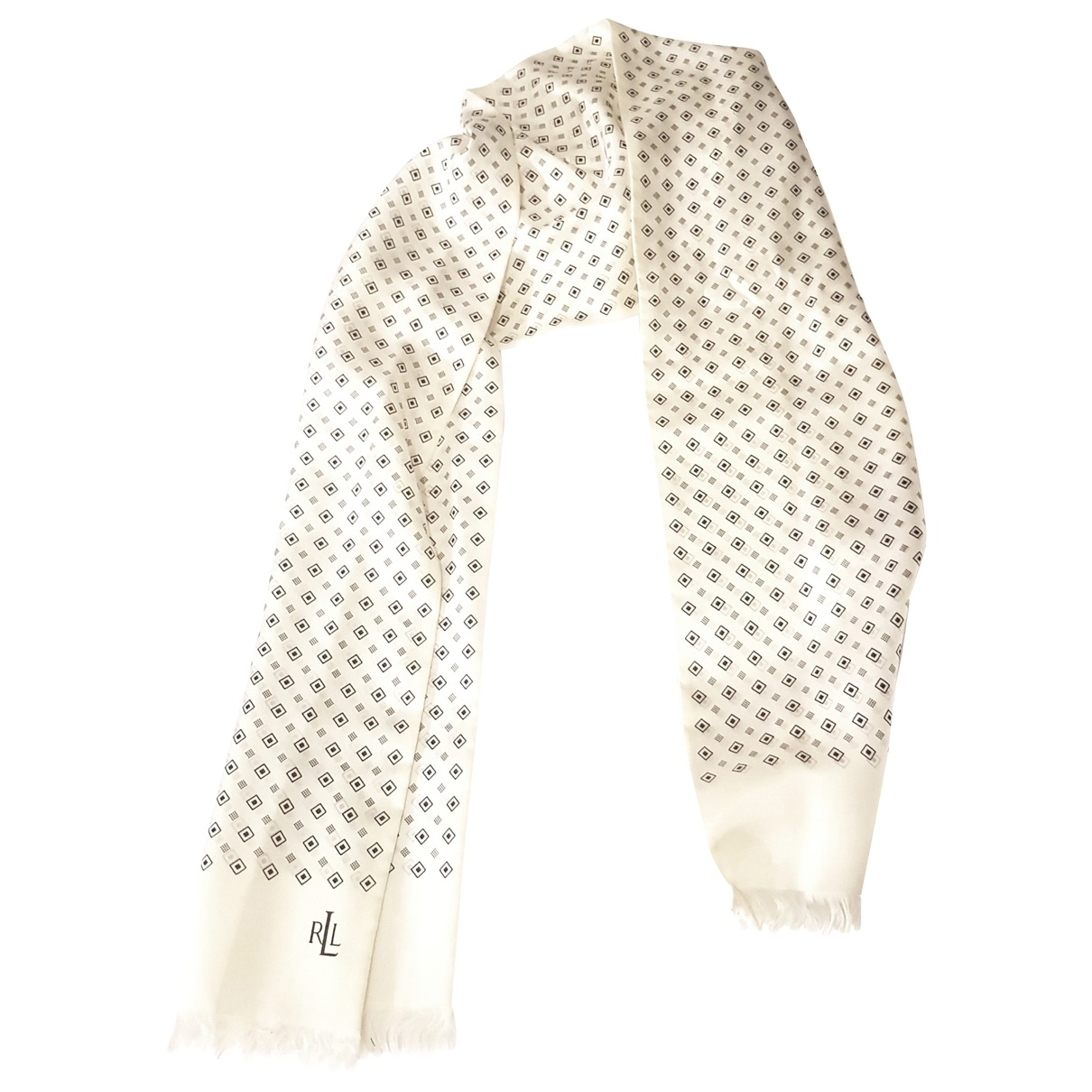 Lauren Ralph Lauren \N Beige Silk scarf for Women \N