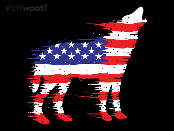 American Wolf T Shirt