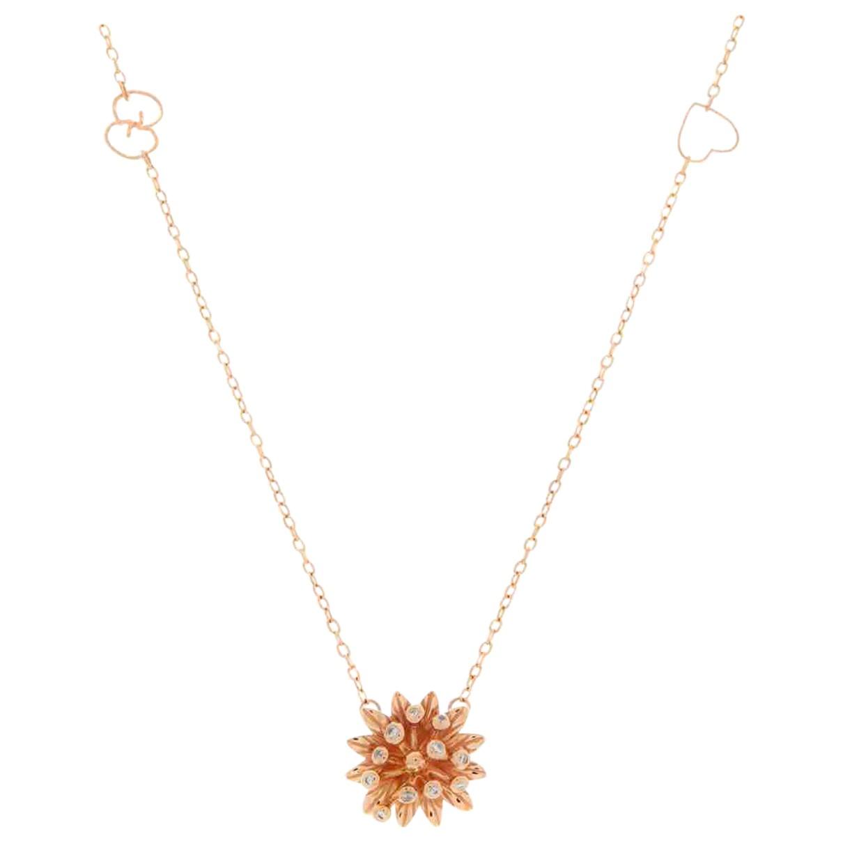Collar de Oro rosa Gucci