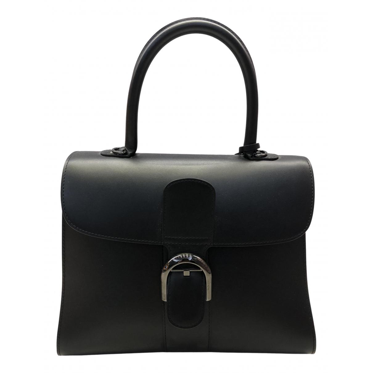 Delvaux Le Brillant Black Leather handbag for Women N