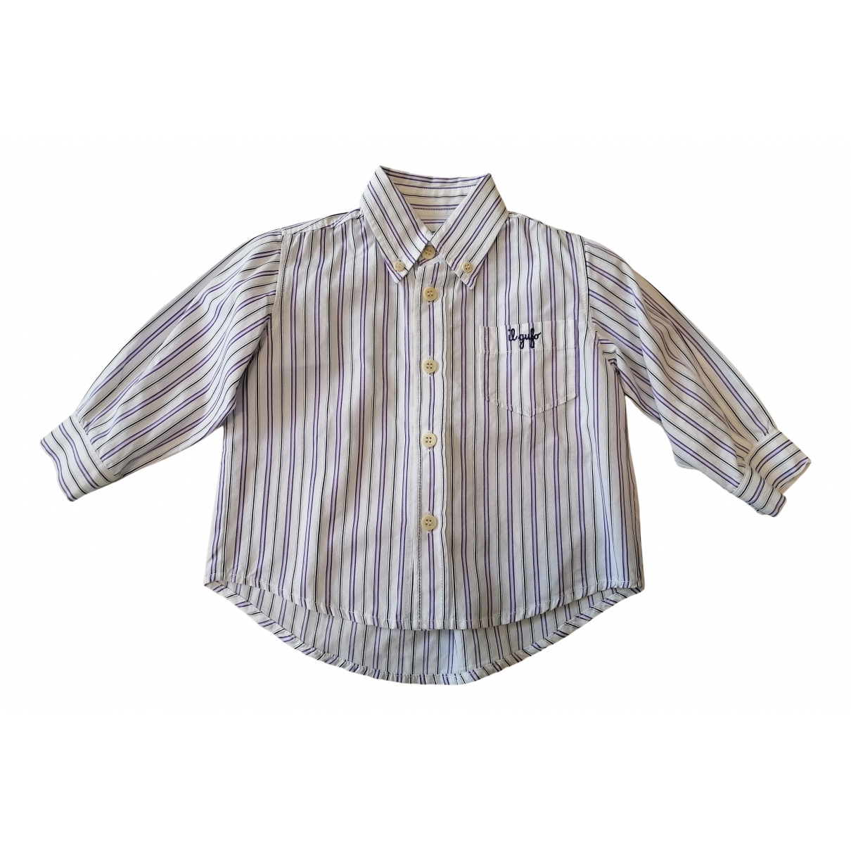 Il Gufo N Multicolour Cotton  top for Kids 12 months - up to 74cm FR