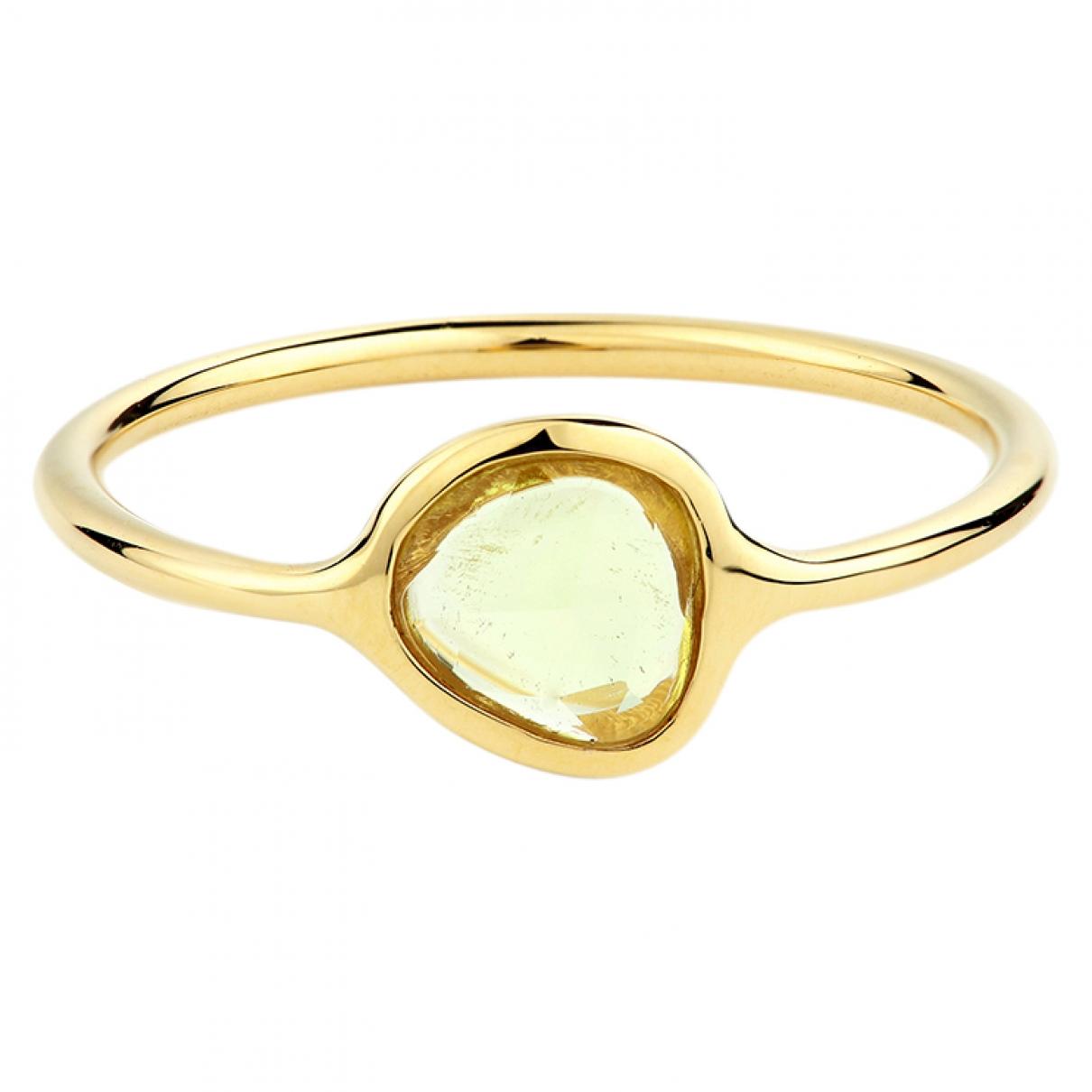 - Bague Saphir pour femme en or jaune - jaune