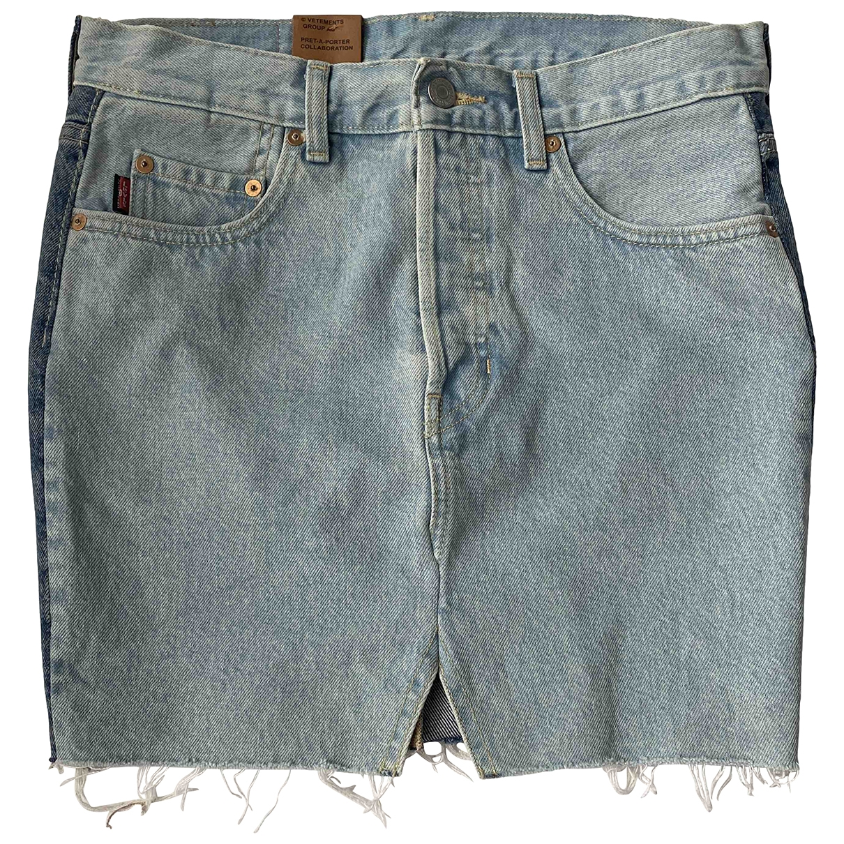 Vetements X Levis \N Rocke in  Blau Denim - Jeans