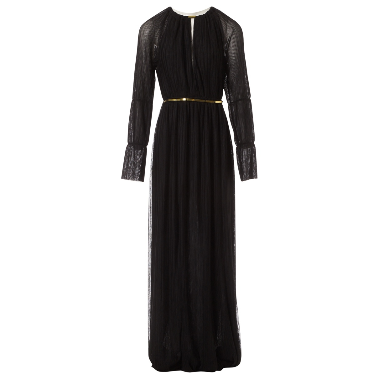 Jay Ahr \N Kleid in  Schwarz Polyester