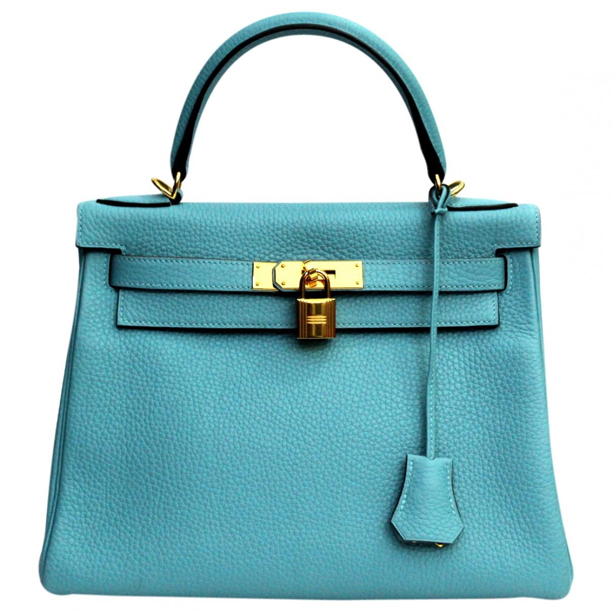 Hermes Kelly 28 Handtasche in Leder
