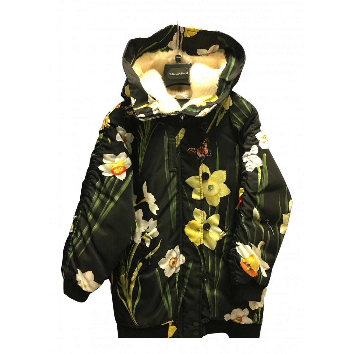 Dolce & Gabbana - Blousons.Manteaux   pour enfant - noir