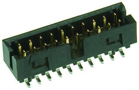 Molex , Milli-Grid, 87832, 24 Way, 2 Row, Straight PCB Header (5)