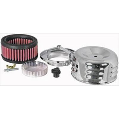 K&N Filter Custom Air Intake Assembly (Chrome) - 60-0500