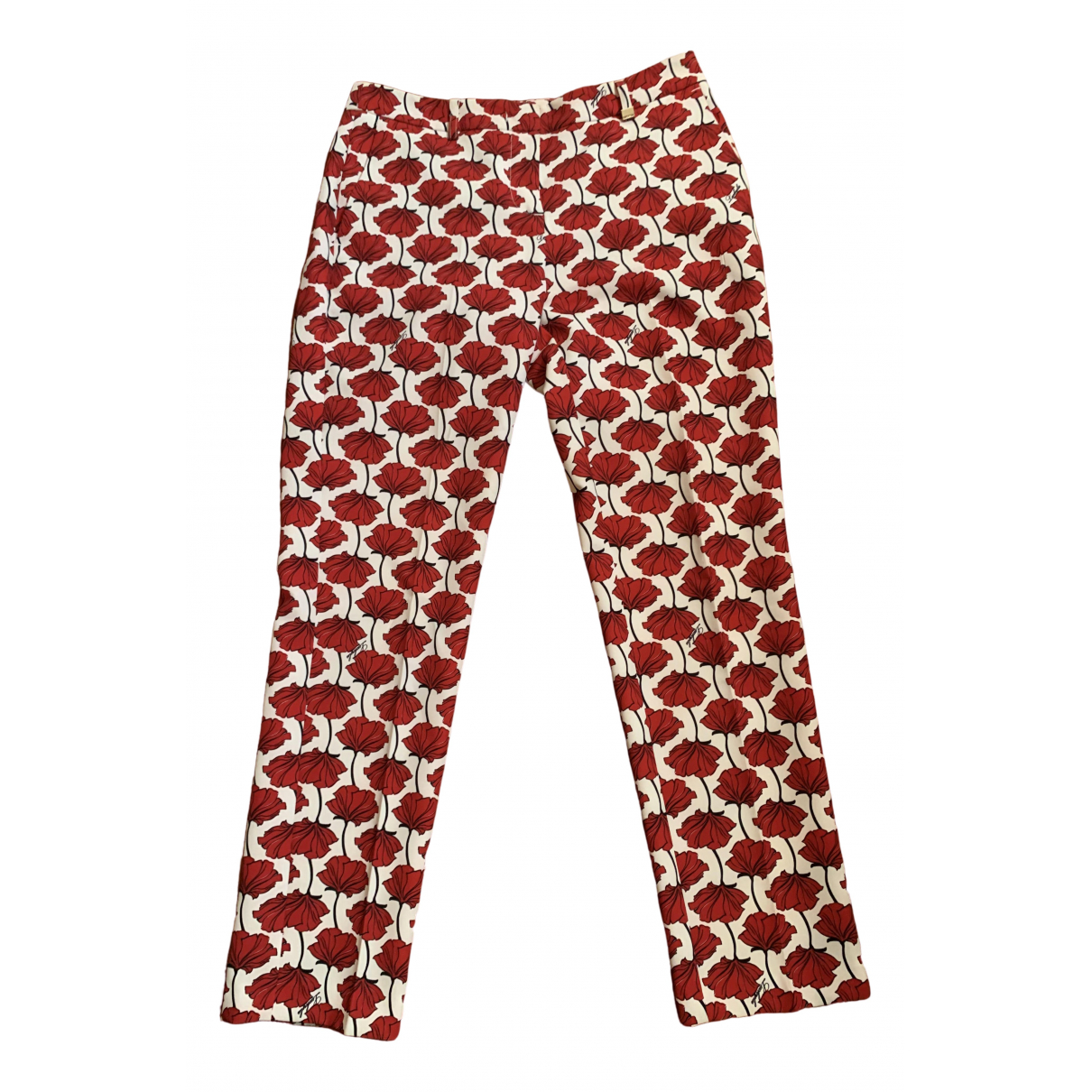 Non Signé / Unsigned \N Multicolour Trousers for Women 42 IT