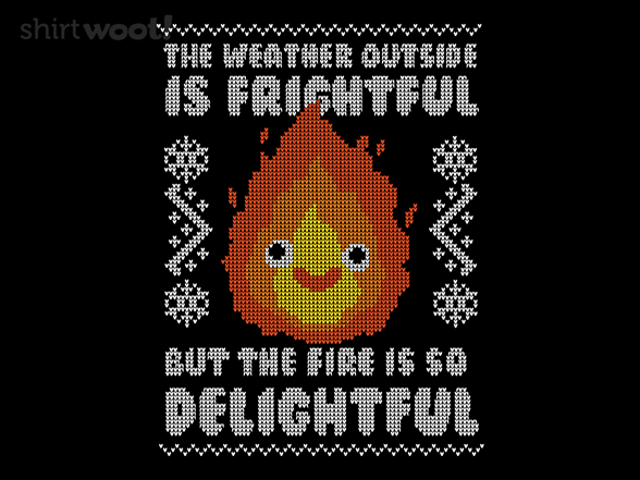 Delightful Fire T Shirt