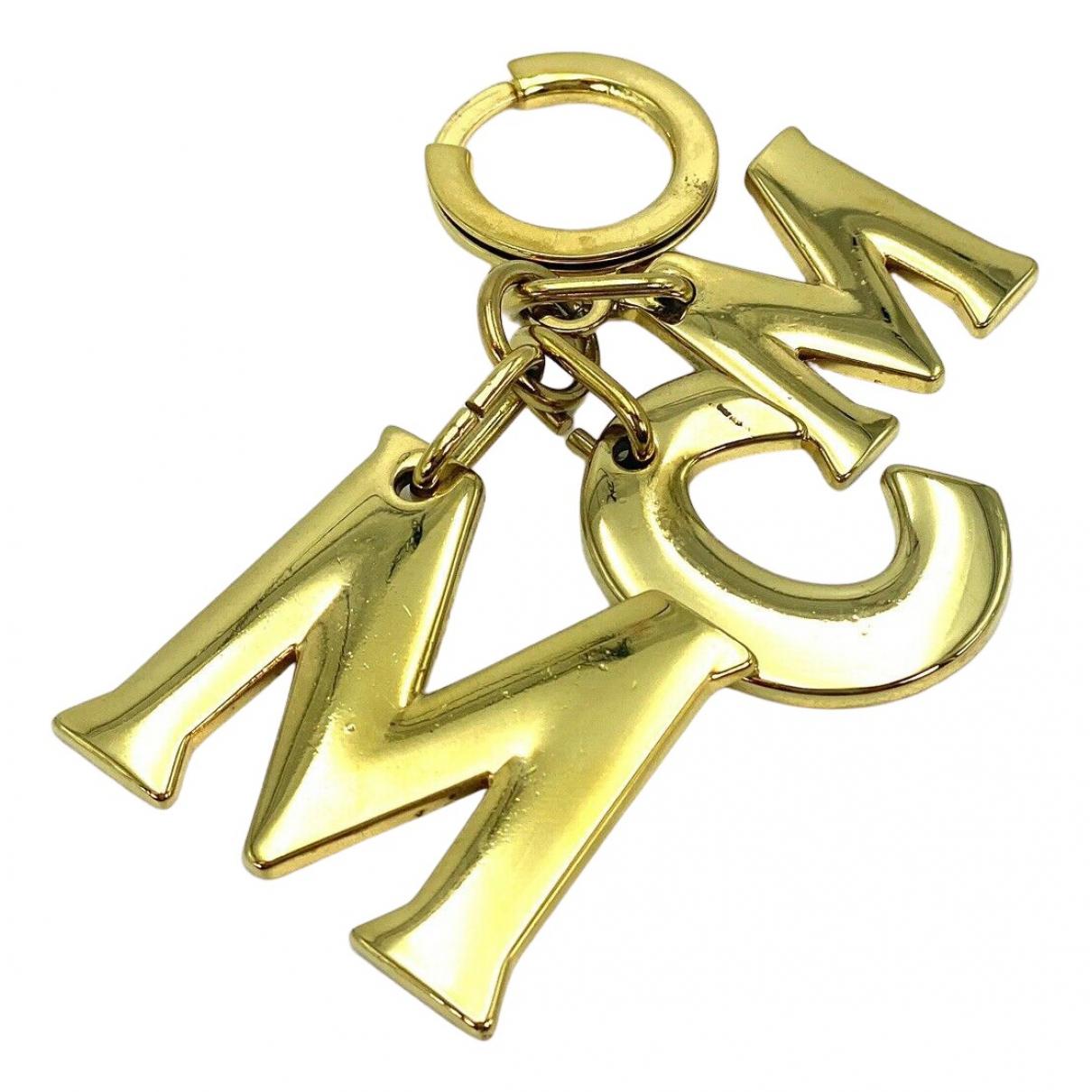 Mcm - Pendentif   pour femme en metal - dore