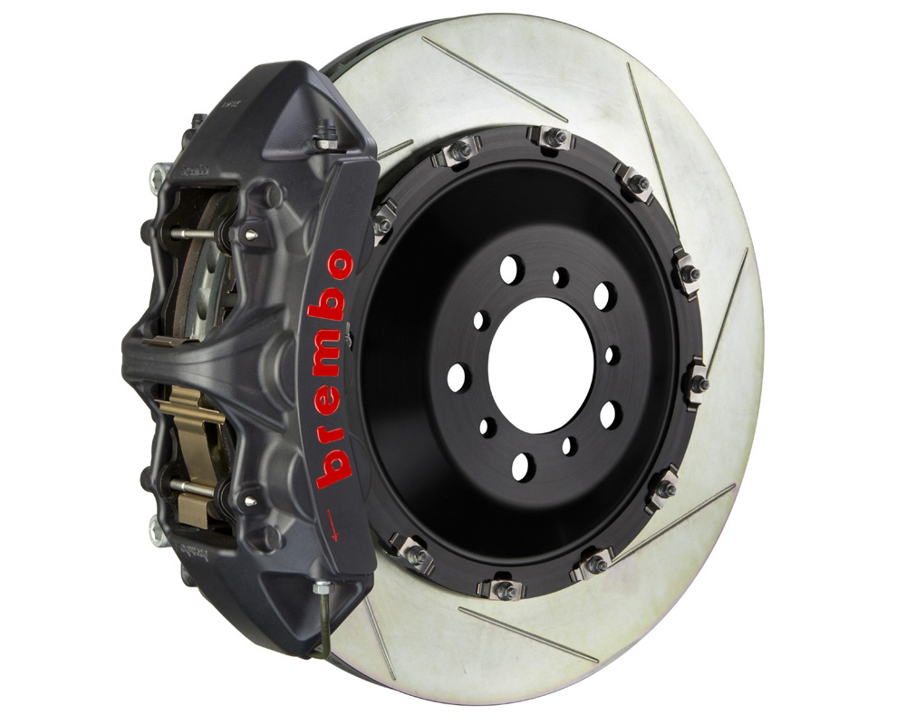 Brembo GT-S 405x34 2-Piece 6 Piston Hard Anodized Slotted Front Big Brake Kit