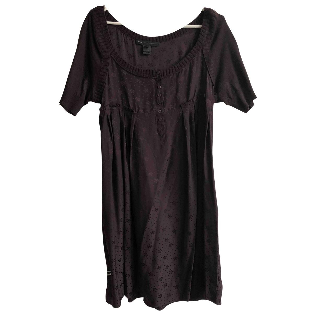 Marc By Marc Jacobs \N Kleid in  Lila Seide